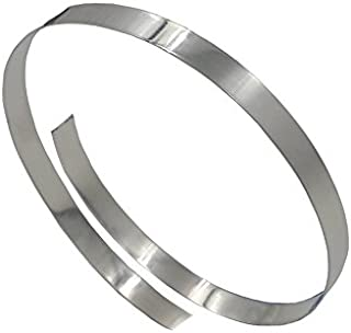 999 Fine Silver Plain Bezel Wire 28 Gauge 1/4 Inch x 12 Inches with Jewelry-making Tip Sheet by EAM Jewelry Design and Supply