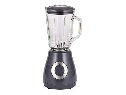 PURLINE Frullatore a Bicchiere 400 W con caraffa in Vetro e 5 velocità Lame in Acciaio Inox