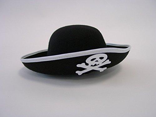 Festartikel Müller GmbH Enfant Pirate Noir, avec Un crâne