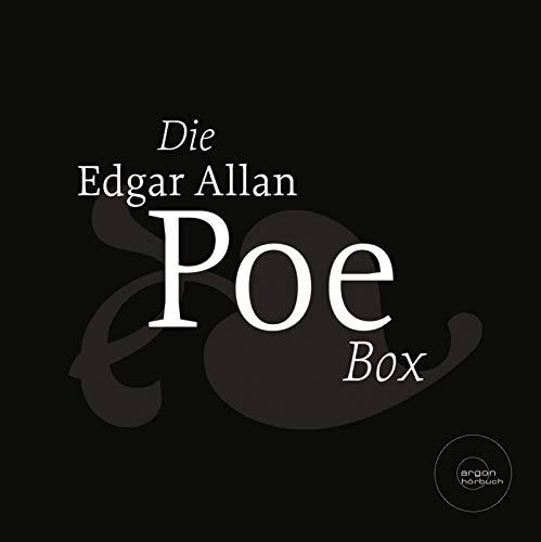 Hörbuch Die Edgar Allan Poe Box (Der Untergang des Hauses Usher /Die Maske des roten Todes /Die Grube und das Pendel /Der Goldkäfer /Spukgeschichten)