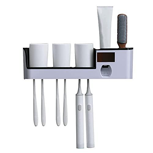 DealMux Soporte para cepillo de dientes Soporte para niños Cepillo de dientes...