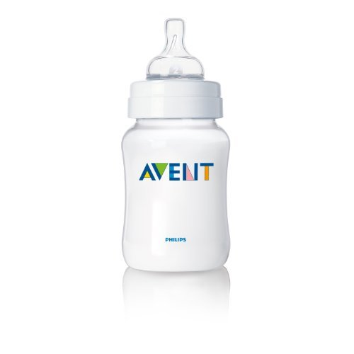 Philips AVENT BPA Free Classic Polypropylene Bottle, Opaque, 4 Ounce, 2 Pack PackageQuantity: 2 Size: 4 Ounce (Baby/Babe/Infant - Little ones)
