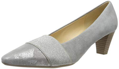 Gabor Shoes Damen Basic Pumps, Grau (Grau 19), 40.5 EU