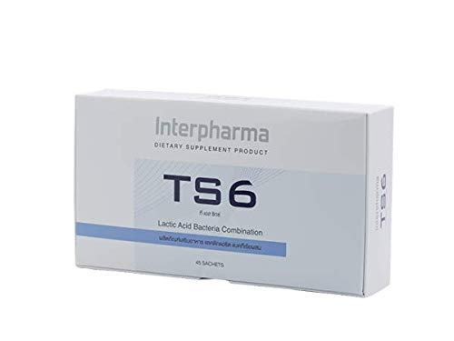 TS6 Probiotic Strains Plus Prebiotic Dietary Supplement Product (2g x 45 sachets)