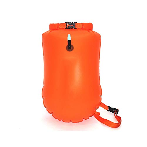 ZFW 3 Paquetes: Bolsa de natación con boya, Colores Brillantes y Alta Visibilidad Ideal para Nadar en Aguas Abiertas Sup Kayaking Pesca Snorkel