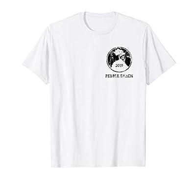 Vintage 2019 Pebble Beach Golf T-Shirt