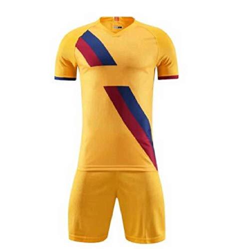 Xiaol Voetbalshirts voor volwassenen, trainingspak, voetbal, trainingspak, voetbalshorts, sportkleding, uniform voetbalshirt, voetbalshirt, voetbalshirt en shorts
