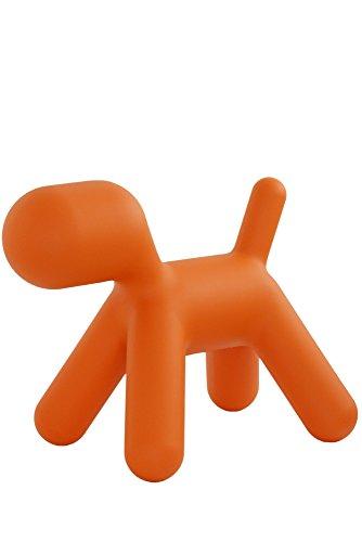 Magis Puppy M Hund, orange Kunststoff LxBxH 56,5x34x45cm