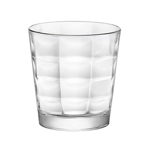 Bormioli Cube Confezione Bicchieri, Vetro, Trasparente, 9.5 x 9.5 x 9.5 cm, 6 Unità