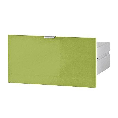 Germania 3456-184 Schubkasten für Kommode/Sideboard Colorado in Grün Hochglanz, 48 x 25 x 37 cm (BxHxT)