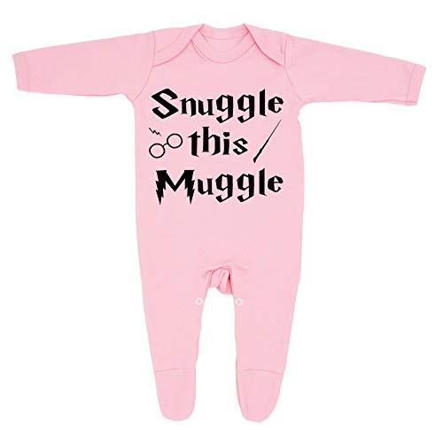 'Snuggle this Muggle' - Pijama para bebé (100% algodón peinado), diseño e impreso en el Reino Unido