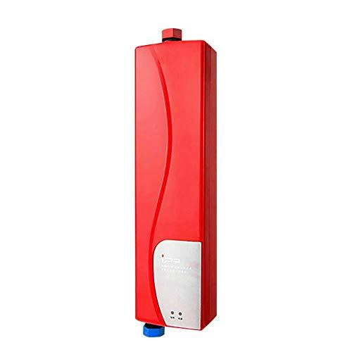 Anciun Mini Durchlauferhitzer, Tragbare Dusche Wasser Boiler Wasser Heizung Klein Durchlauferhitzer für Badezimmer Küche 3KW
