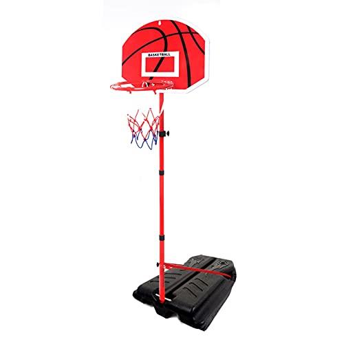 Canasta Baloncesto Aro De Baloncesto Portátil para Niños Y Adultos, Soporte De Baloncesto Ajustable En Altura 80-240, Utilizado para Juguetes De Jardín En Interiores Y Exteriores (Size : 200cm)