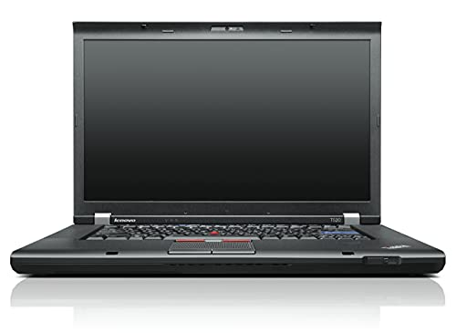 Lenovo ThinkPad T520 15.6 inch Laptop (Intel Core i5 2430M 2.4GHz, RAM 4GB,HDD 500GB, DVD±RW, WLAN, WWAN, BT, Webcam, Windows 7 Professional 64-bit) - Blac (Renewed)