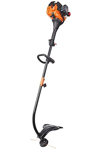 Remington RM2520 Wrangler 25cc 17-Inch Gas Powered String Trimmer 2-Cycle-Lightweight-Attachment Capable-Curved Shaft