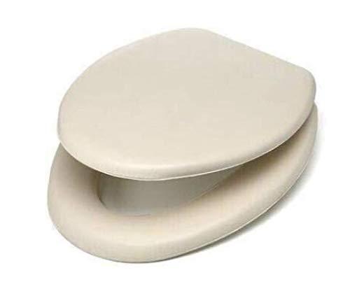 Toilet Seat Cushioned Bone Soft Padded Elongated