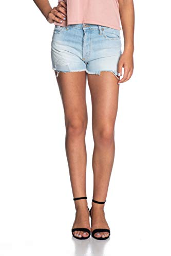 Please Shorts in Jeans Donna Denim Stone Washed