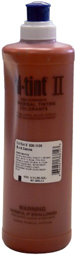 Chromaflo 830-1109 Cal-Tint II 16-Ounce Colorants, Burnt Sienna