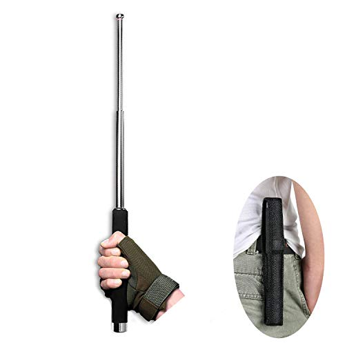 2020 New Upgrade Extendable Handheld Telescopic Flag Pole, Lightweight Multi-Functional Emergency Stick, Adjustable Walking Stick for Defensive, Used for Camping and Mountaineering Protection Tool
