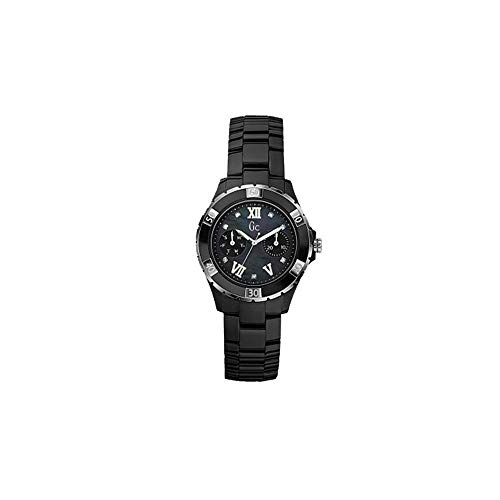 Guess Herren Analog Quarz Uhr mit Edelstahl Armband X69106L2S