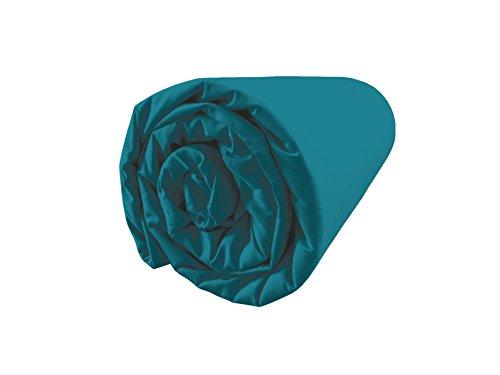 BLANC CERISE Drap Housse en Percale, Bonnet 30 180 * 200 - Bonnet 30cm