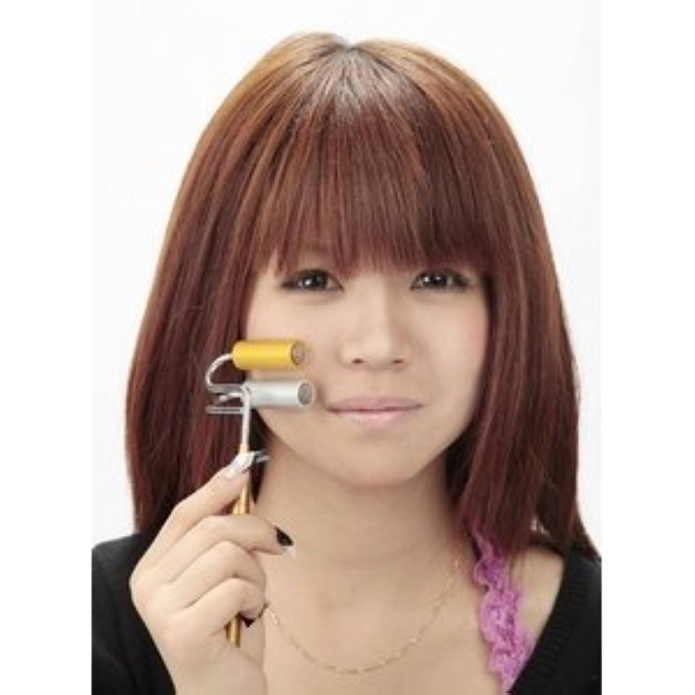 サイズ腹痛不純純金&純銀ゲルマ磁気ローラ ds-120454