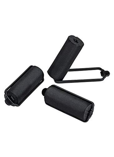 satin roller curler jumbo size hair accessories, jumbo