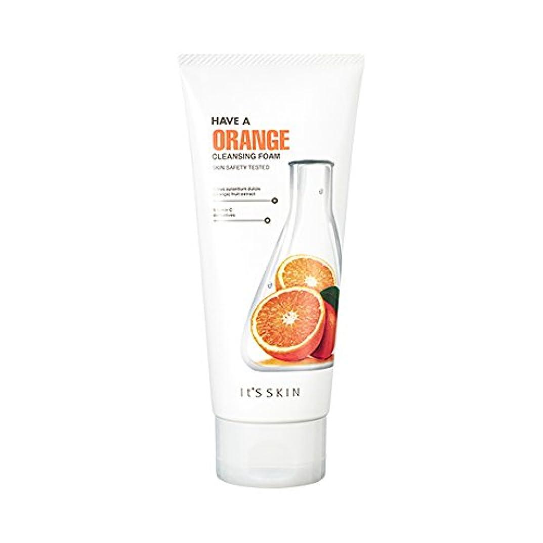 広げる湿原対処するIts skin Have a Orang Cleansing Foam/イッツスキン ハブア オレンジクレンジングフォーム [並行輸入品]
