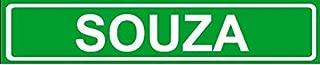 Novelty Family last name SOUZA street sign 4