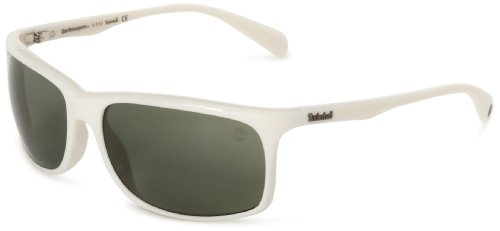 Timberland Sonnenbrille TB9002 6221R Gafas de Sol, Blanco (Weiß), 62 para Hombre