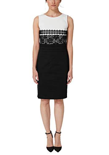 s.Oliver BLACK LABEL Damen 01.899.82.5168 Kleid, Schwarz (Black 99s7), (Herstellergröße: 46)