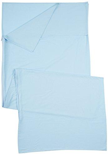 Ferrino Comfort Liner SQ, Sacco Lenzuolo Azzurro, 220x90x90 cm