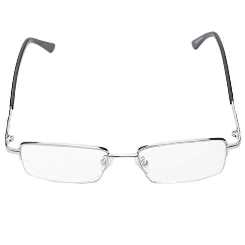 Gafas de lectura compactas de enfoque múltiple Gafas de presbicia con bloqueo de luz azul para hombres y mujeres +2.5