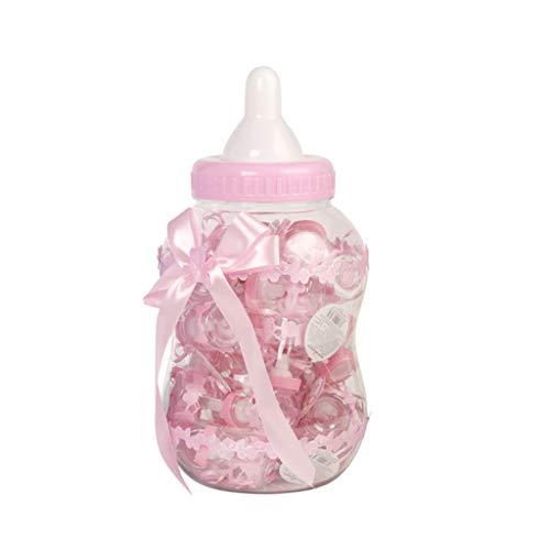 N/A. Botellas de caramelo con diseño de botella de alimentación para embalaje de chocolates, pequeños regalos en baby shower luna llena personalización boda fiesta de cumpleaños
