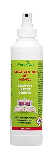 NaturGut Matratzen-Deo Spray mit Niemöl 250ml zur Bekämpfung lästiger Gerüche