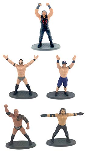 WWE Collector 5 Pack Set of 2.5' Figurines