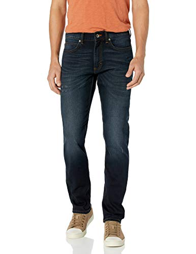 Lee Men's Modern Series Slim-Fit Tapered-Leg Jean, Crusade, 34Wx32L