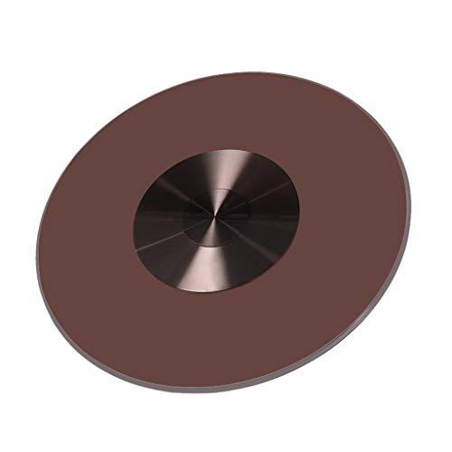SUWEN Runder Drehteller,Plattenspieler-Esstisch aus Aluminiumlegierung mit Hochleistungskugellagern, 31 Zoll