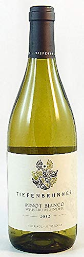 Pinot Bianco A.A. DOC 2016 Tiefenbrunner, trockener Weisswein aus Südtirol