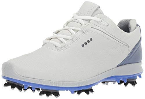 ECCO Women's Biom G 2 Free Gore-TEX Golf Shoe, White Yak Leather, 41 M EU (10-10.5 US)