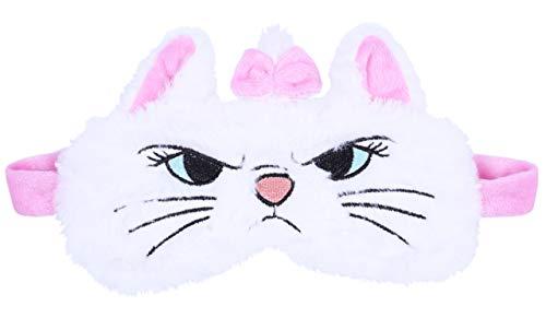 Weiße, weiche Augenbinde mit Marie, der Katze, MARIE THE ARISTOCATS Einheitsgröße