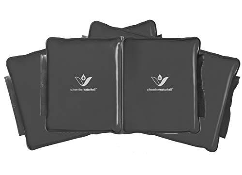 schwerinernaturheil Edel Deluxe - Bolsa térmica con relleno de calor (tamaño 2, doble cámara)