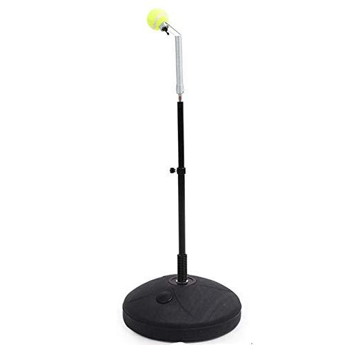 Tennistrainer Tennistrainingsmaschine mit elastischem Soft Shaft Tennis Rebound Trainer Übung Swing Sparring Trainingshilfe Werkzeug Freizeitsporttrainingsmaschine Fitness für Kinder Erwachsene