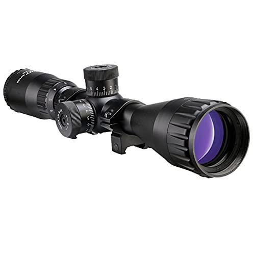 Svbony SV166 Mira Telescopica, 3-9x40 AO Rifle Scope Retícula Mil-Dot Torretas de Reinicio Cero 20mm Rieles Montar para Deportes y Vista al Aire Libre