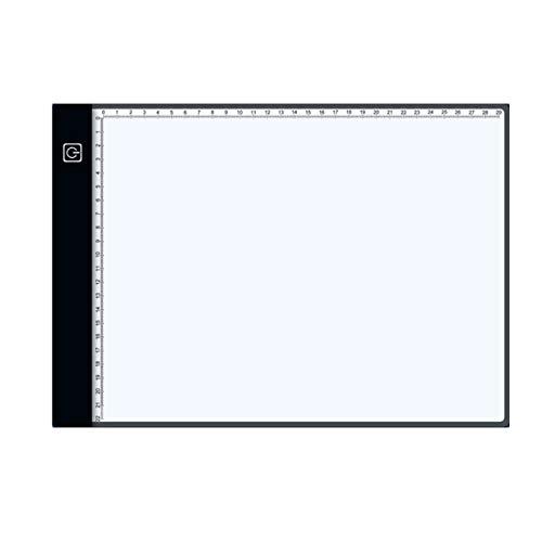 Tableta de Escala de Borde Negro de Anime, Tableta de Dibujo Digital, tabletas gráficas, Tablero electrónico de Copia de Arte de rastreo USB