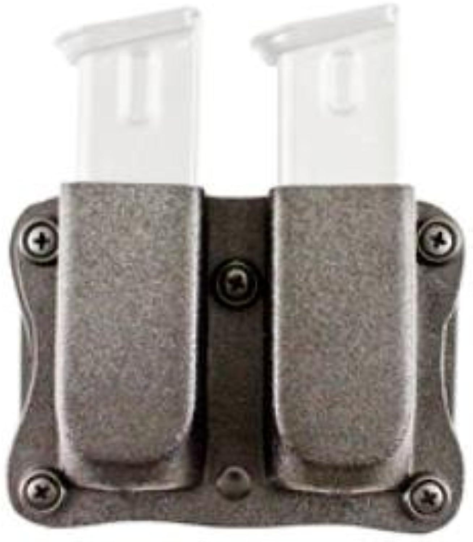 DeSantis Quantico Double Mag Pouch Glock 17, 19, 22, 23, 31, 32, 36, 37, 38 A87KJJJZ0, color, Ambidextrous, Black