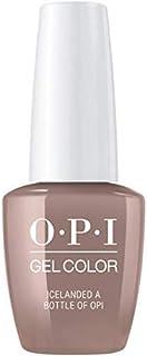 OPI GelColor Soak Off LED/UV Gel Nail Polish I53 Icelanded A Bottle Of OPI 15ml