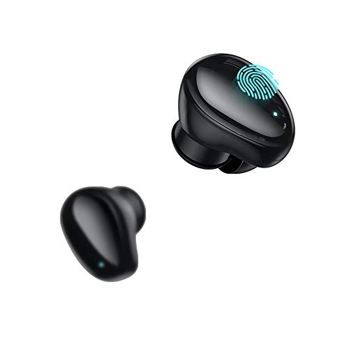 Wireless Bluetooth Sports Earbuds with Microphone-120 Hours Play Time with Case-Noise Cancelling-Volume Control-Voice Command-Lightning Connection-Android, iPhone Compatible-Replacement Tips