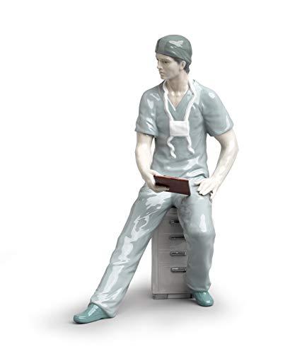 LLADRÓ Surgeon Figurine. Porcelain Doctor Figure.