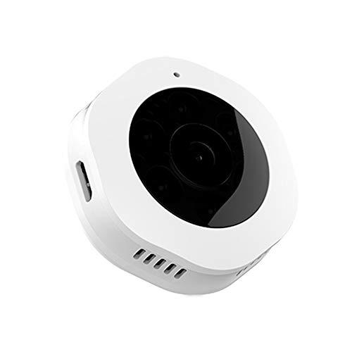 ip camera with ir nights ZDY HD Mini Wearable IP Camera 1080P IR Night Vision Camera Motion Detection Sport DV Portable Body Camera WiFi Security Camera,White